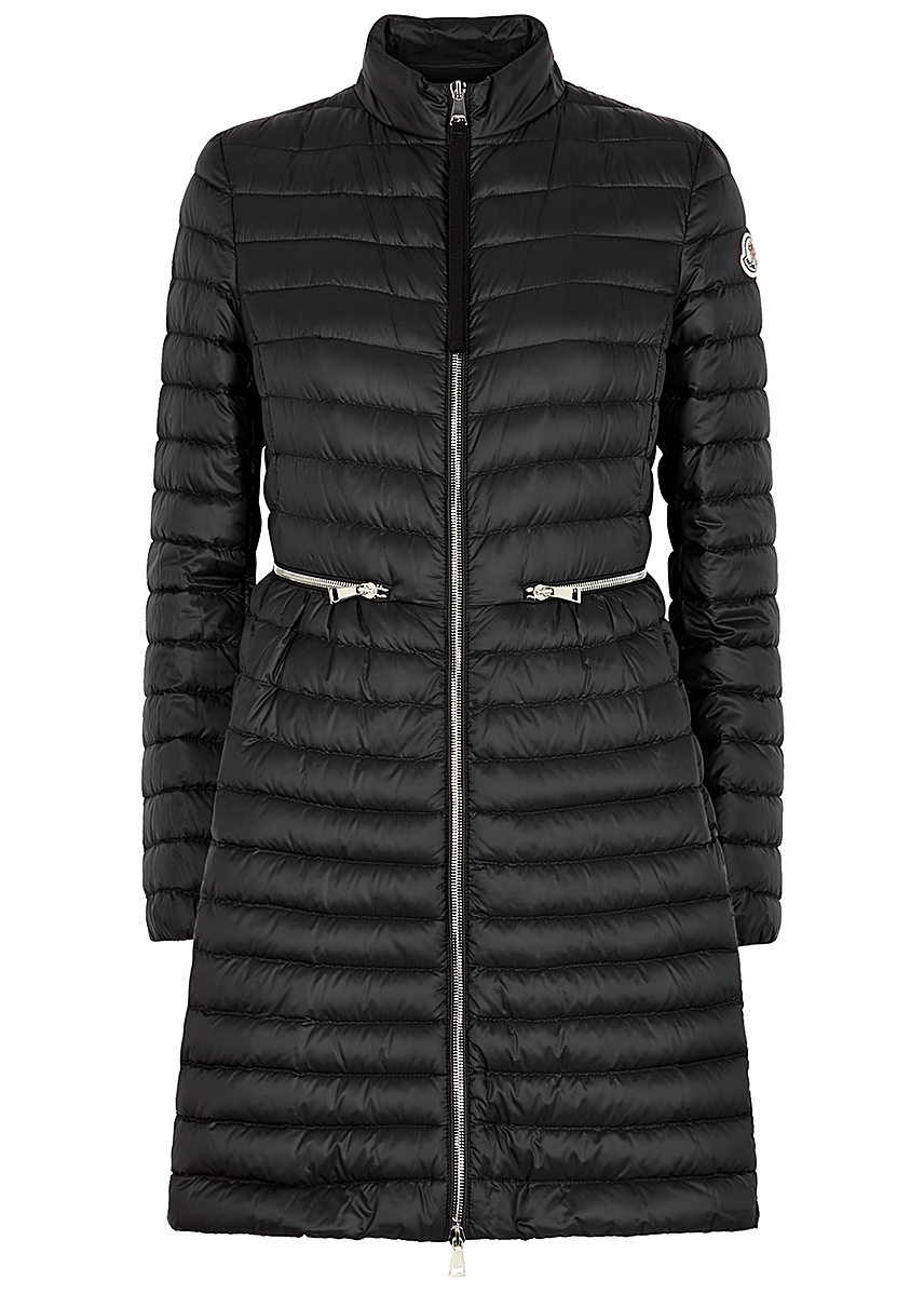 3c4278096 Agatelon black quilted shell coat Agatelon black quilted shell coat. Moncler