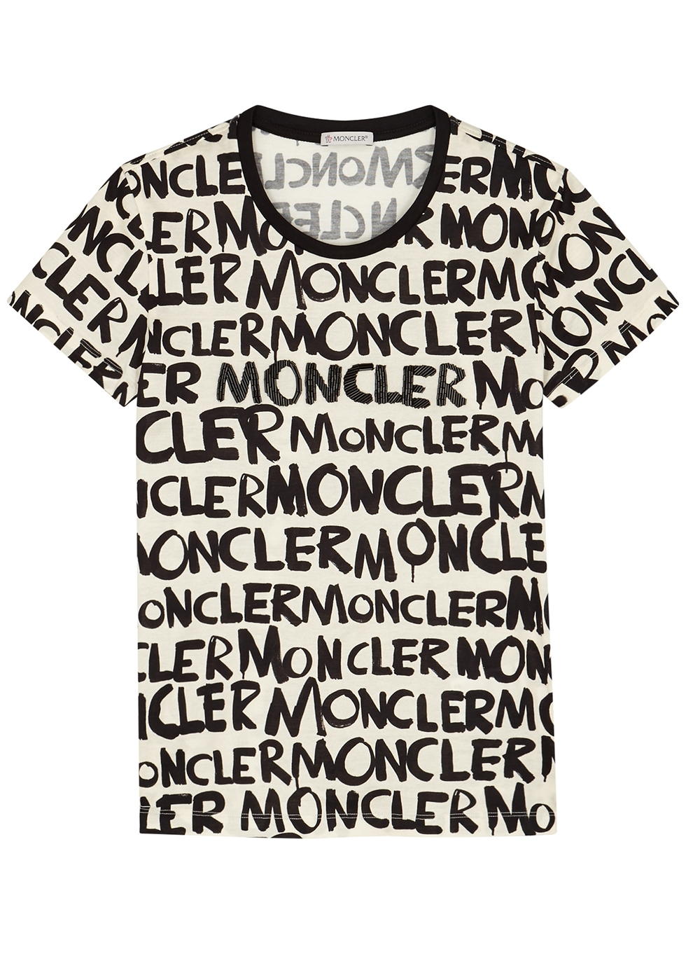 Printed cotton T-shirt - Moncler