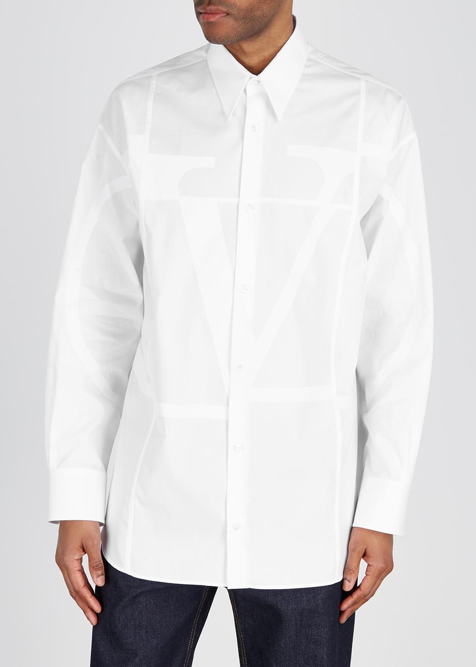 White logo cotton shirt - Valentino