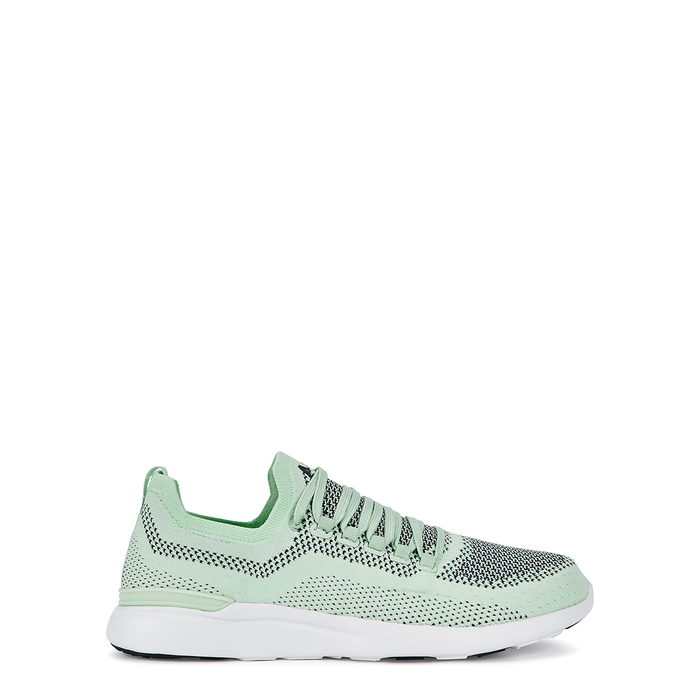 Apl Athletic Propulsion Labs Shoes TECHLOOM BREEZE MINT KNITTED TRAINERS