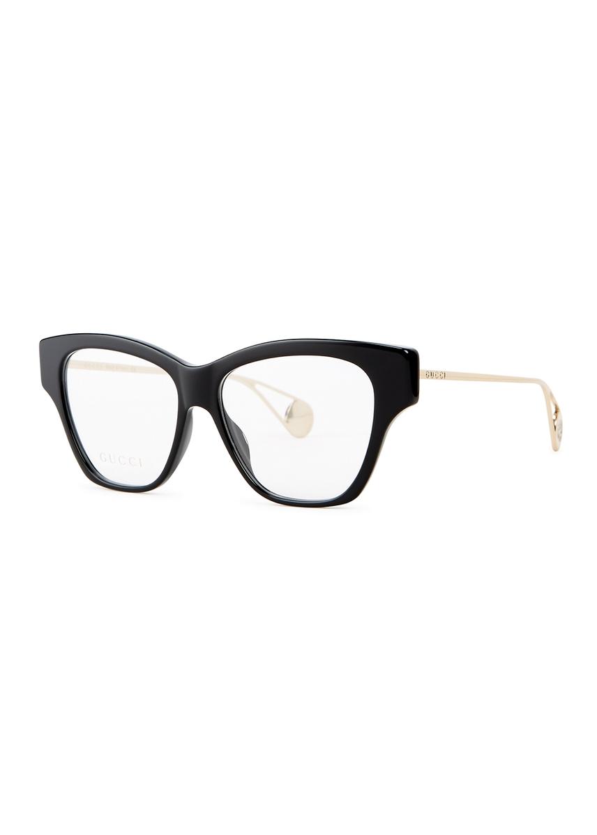 f476182c90 Black square-frame optical glasses. New Season. Gucci