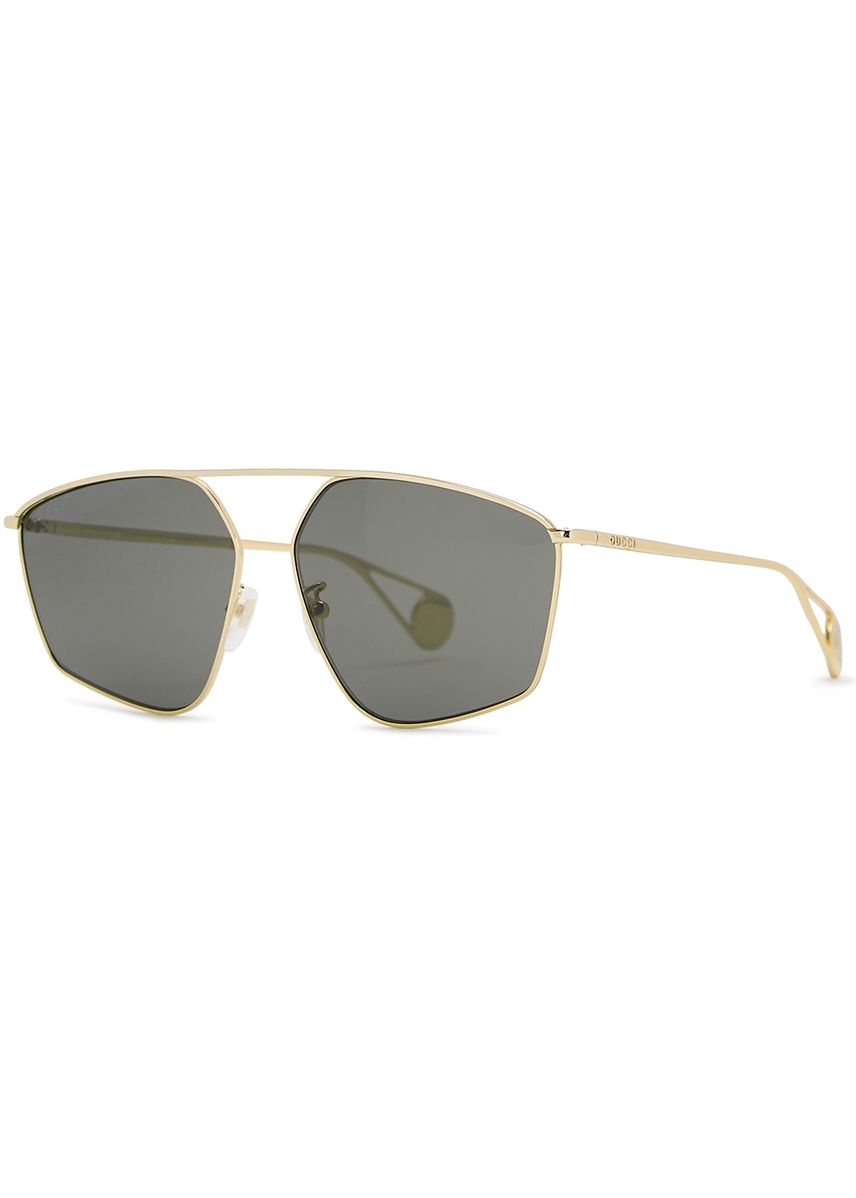 e00a9cbd14 Gucci Aviator Sunglasses Red