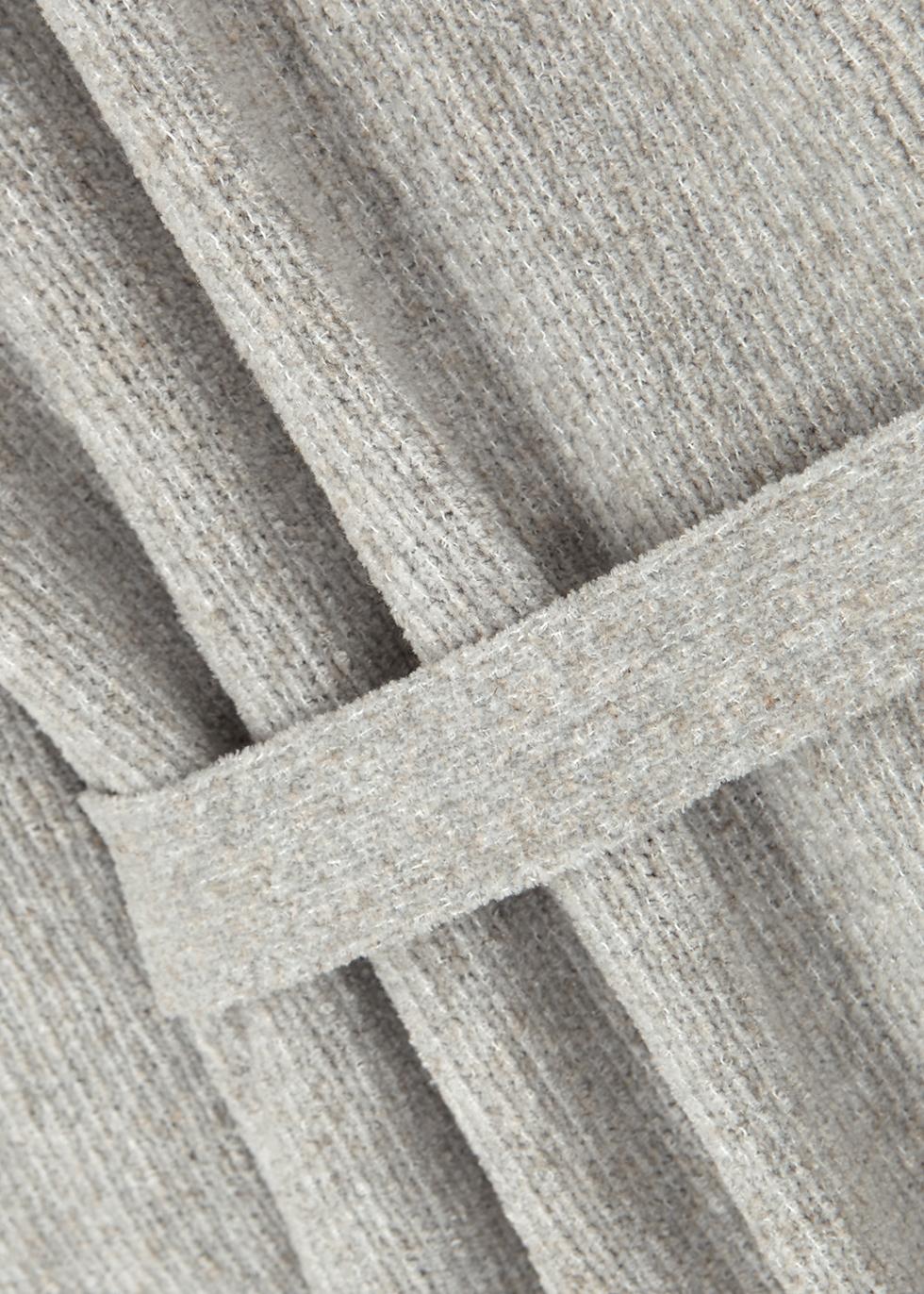 Bibaron grey chenille cardigan - American Vintage