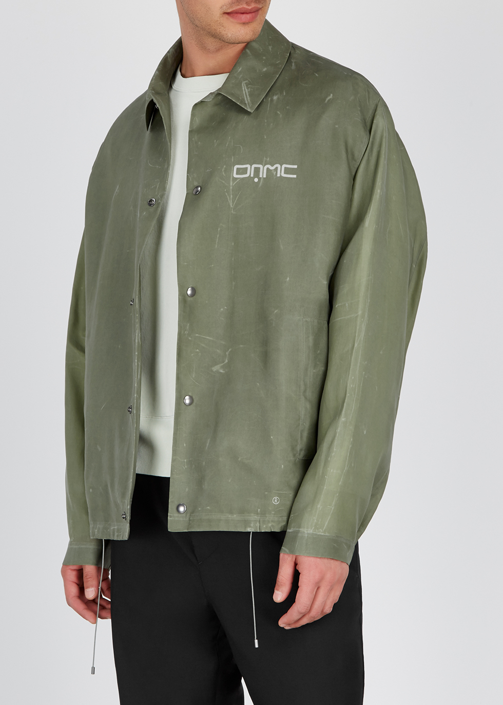 Houston distressed cotton jacket - OAMC