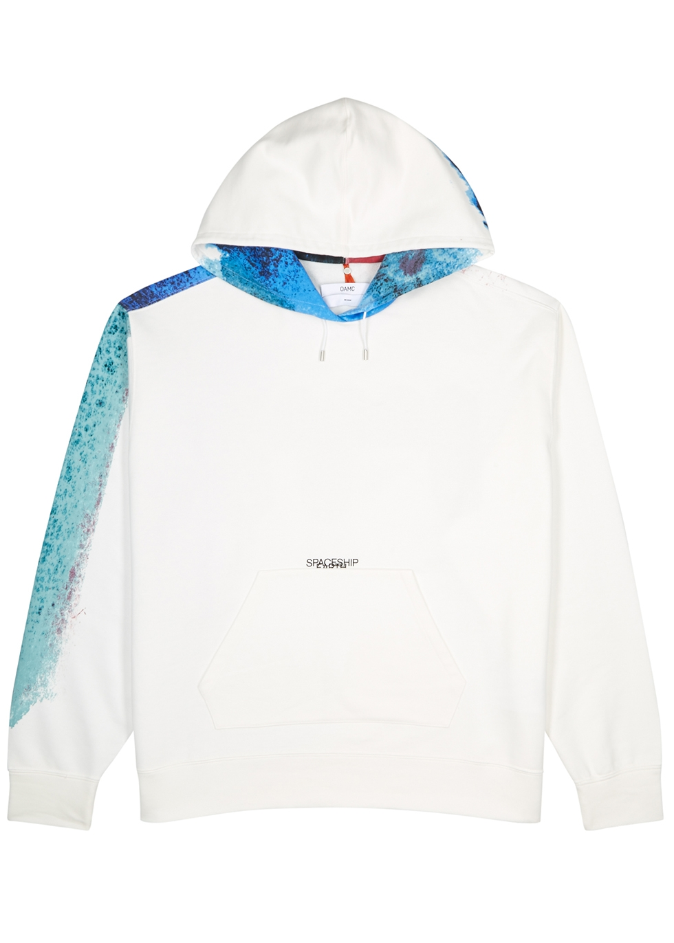 Watercolour white cotton sweatshirt - OAMC