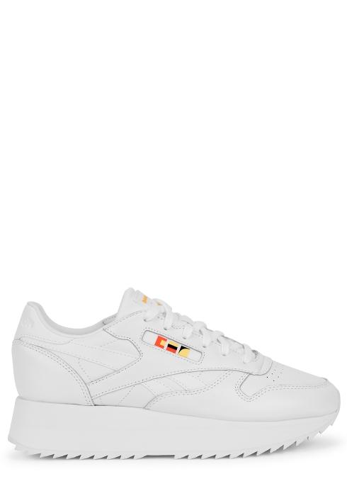 6d6739b46c4b Reebok X Gigi Hadid white leather trainers - Harvey Nichols