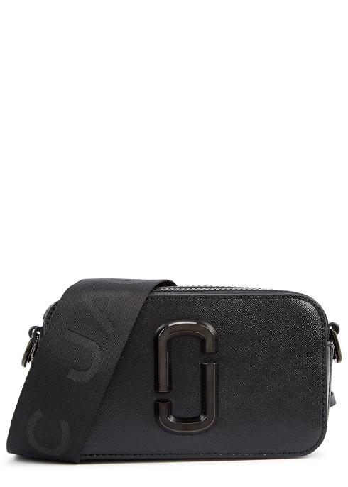 Marc Jacobs Snapshot DTM black leather cross-body bag - Harvey Nichols 056c2cd050fde