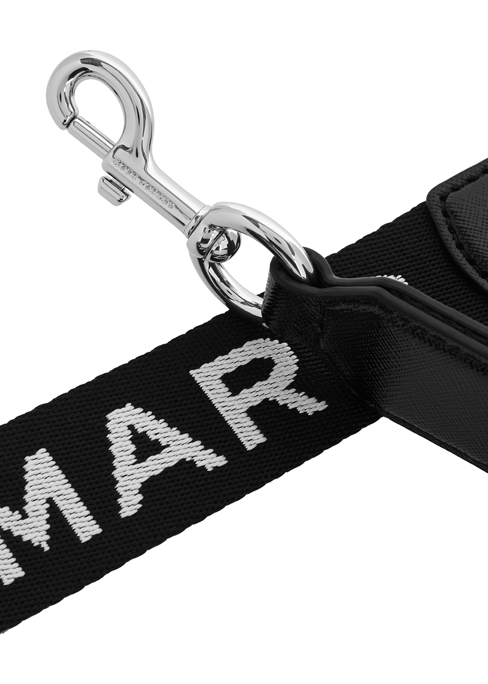 Logo-jacquard webbing bag strap - Marc Jacobs