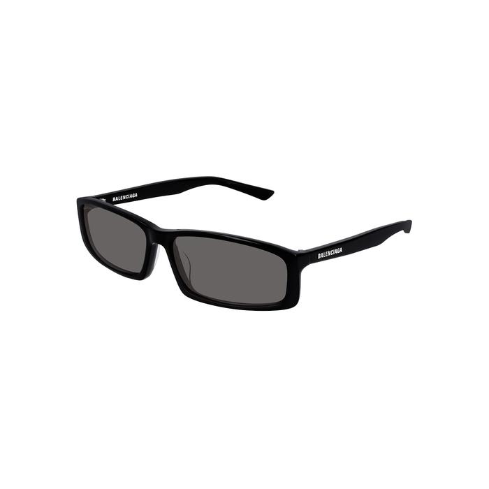 Balenciaga Black Square-frame Sunglasses