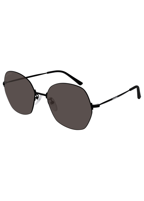 06314bfb66 Balenciaga Black round-frame sunglasses - Harvey Nichols