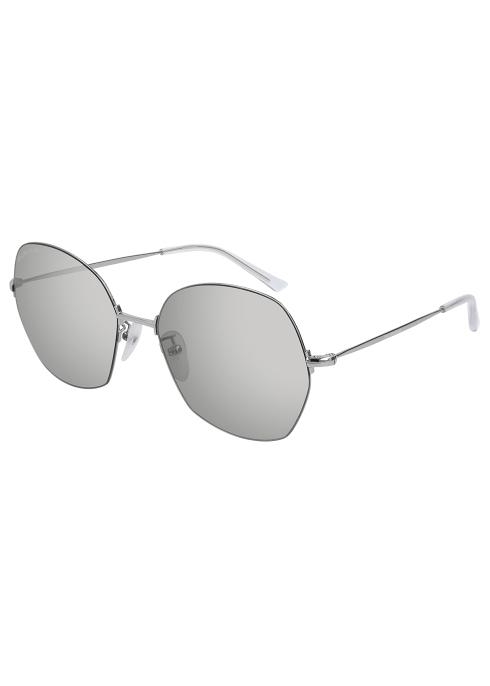 e12fe5d6c9 Balenciaga Mirrored round-frame sunglasses - Harvey Nichols