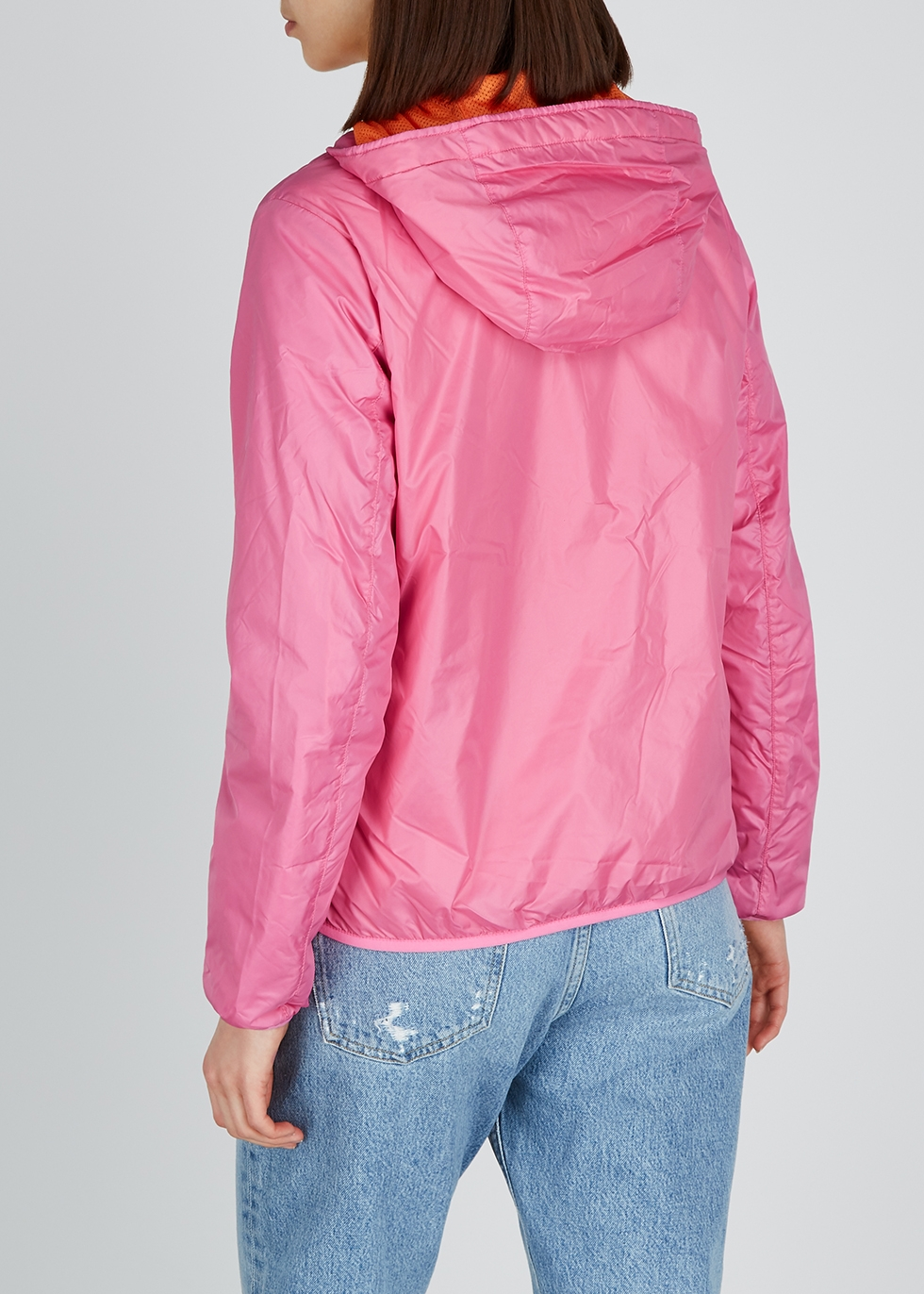 Pink hooded shell jacket - Colmar
