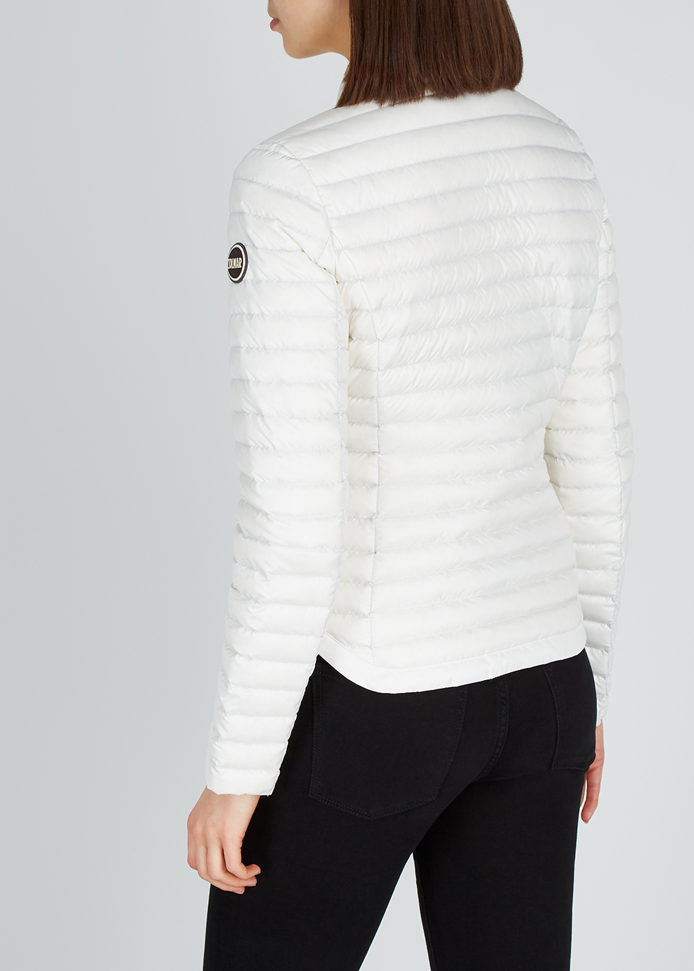 Off-white quilted shell jacket - Colmar