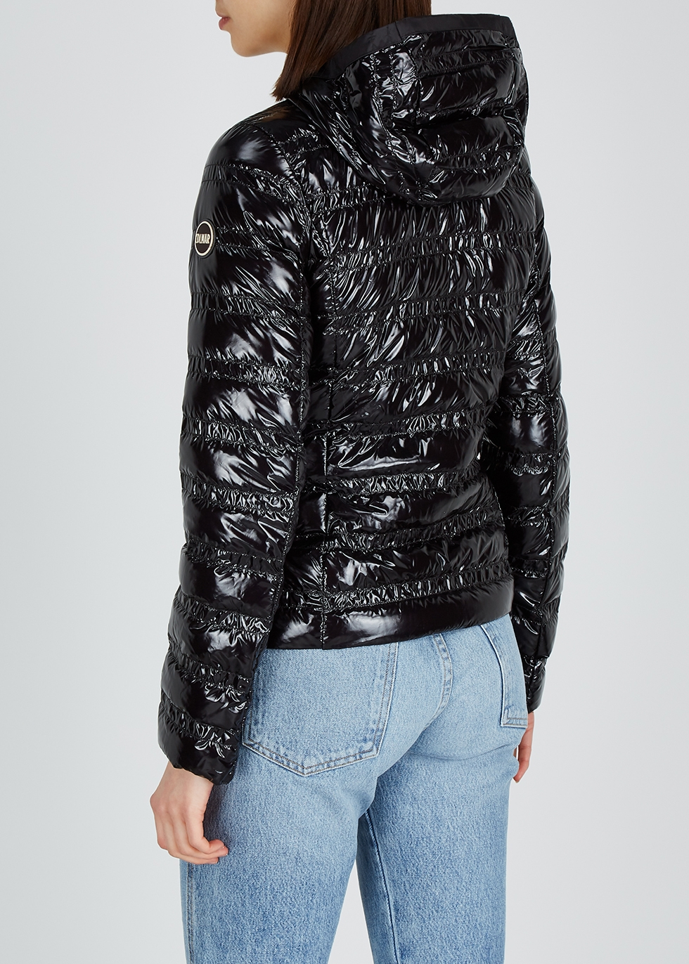 Black quilted shell jacket - Colmar