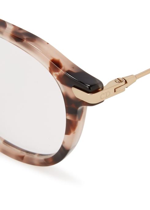 d0eba48092fff Dior DiorEssence17 round-frame optical glasses - Harvey Nichols