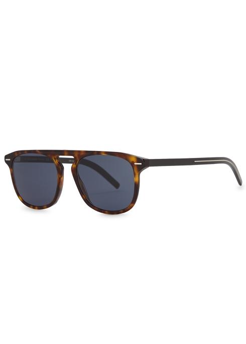 123811dd87 Dior Homme BlackTie 249S tortoiseshell sunglasses - Harvey Nichols