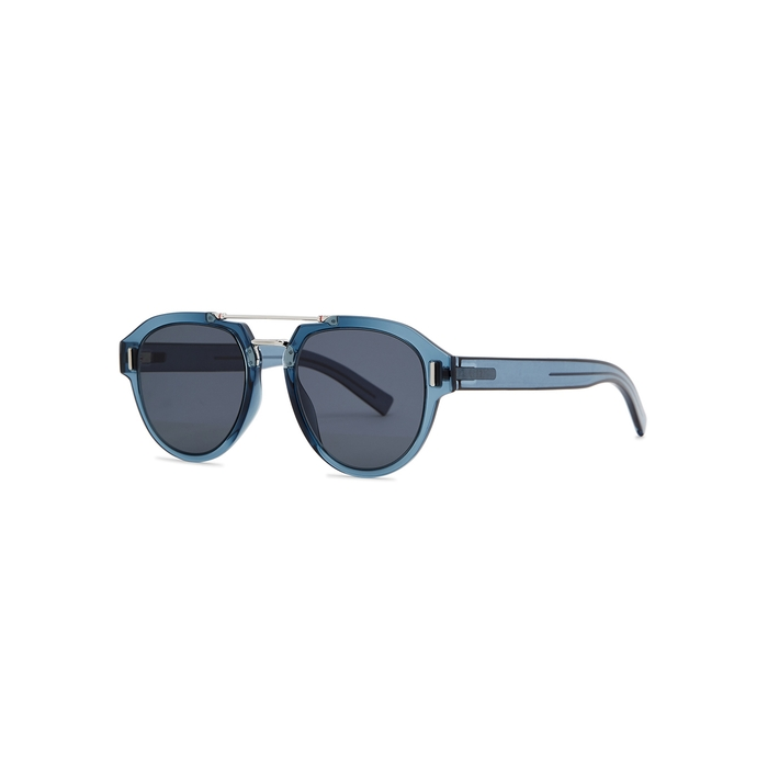 Dior Homme Sunglasses DIORFRACTION5 AVIATOR-STYLE SUNGLASSES