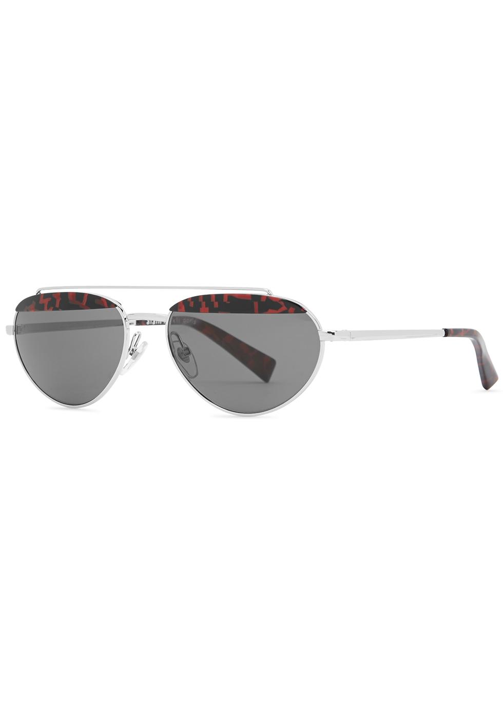 Elicot oval-frame sunglasses - ALAIN MIKLI