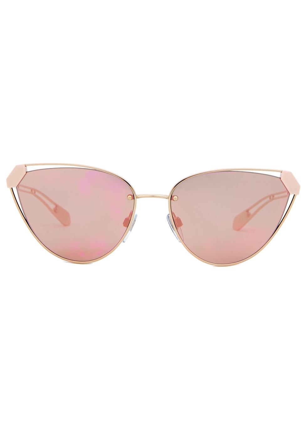 Serpenti cat-eye sunglasses - BVLGARI
