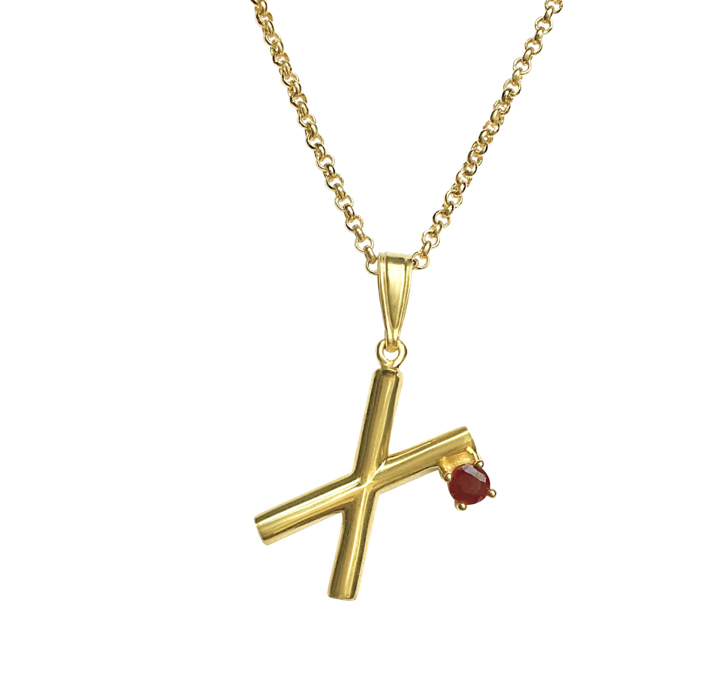 ISABEL ENGLEBERT Runes Love Necklace