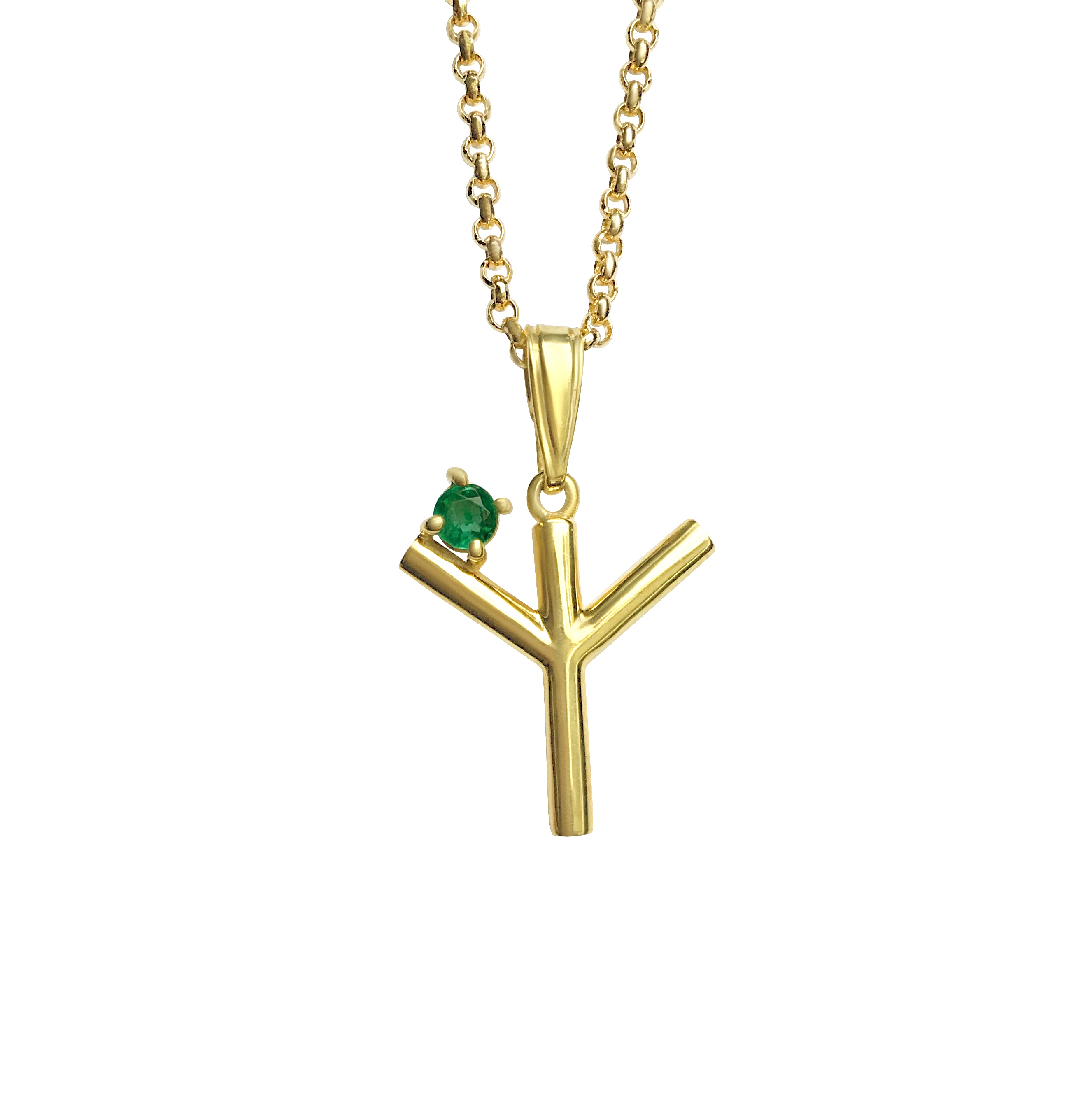 ISABEL ENGLEBERT Runes Protection Necklace