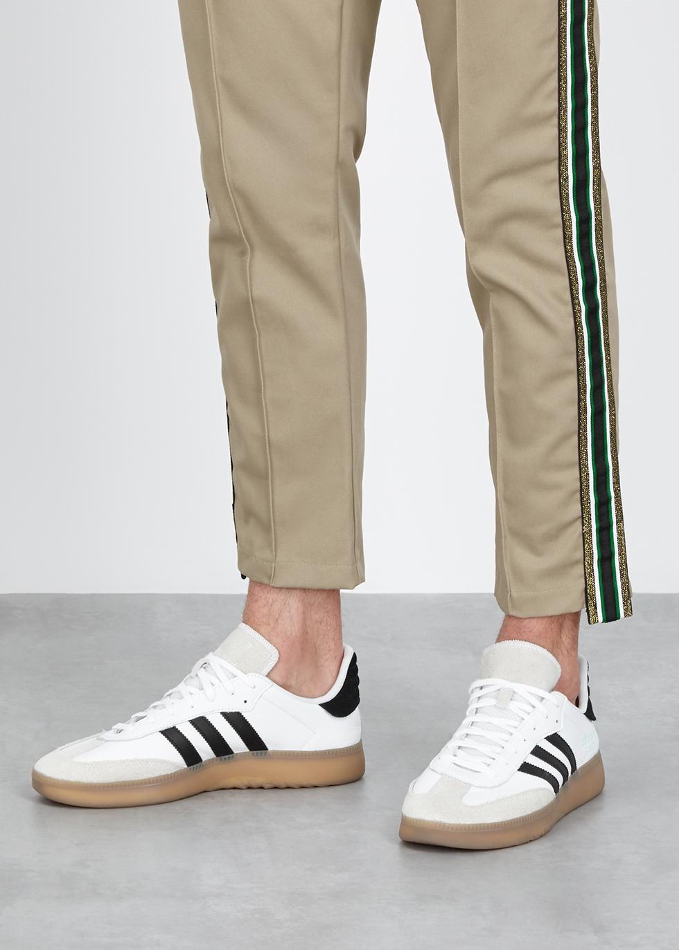 d07a5ff6b0fa72 adidas Originals Samba RM white leather trainers - Harvey Nichols