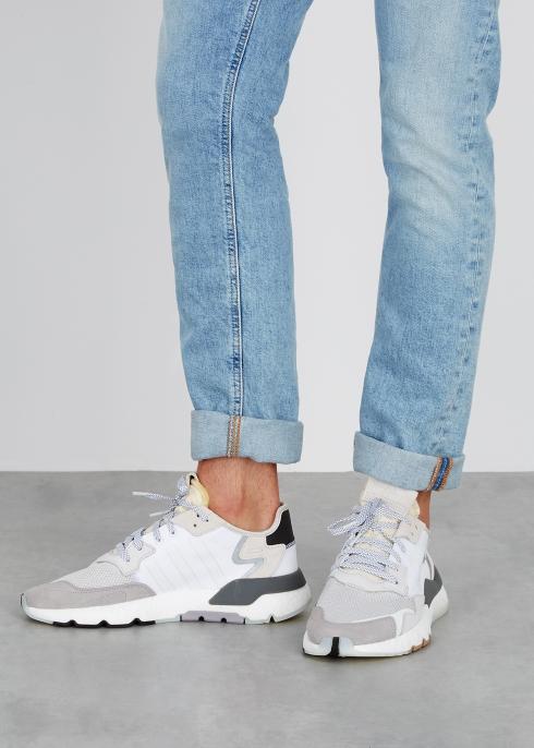 sale retailer e4042 b81a7 Nite Jogger nylon and mesh trainers - adidas Originals