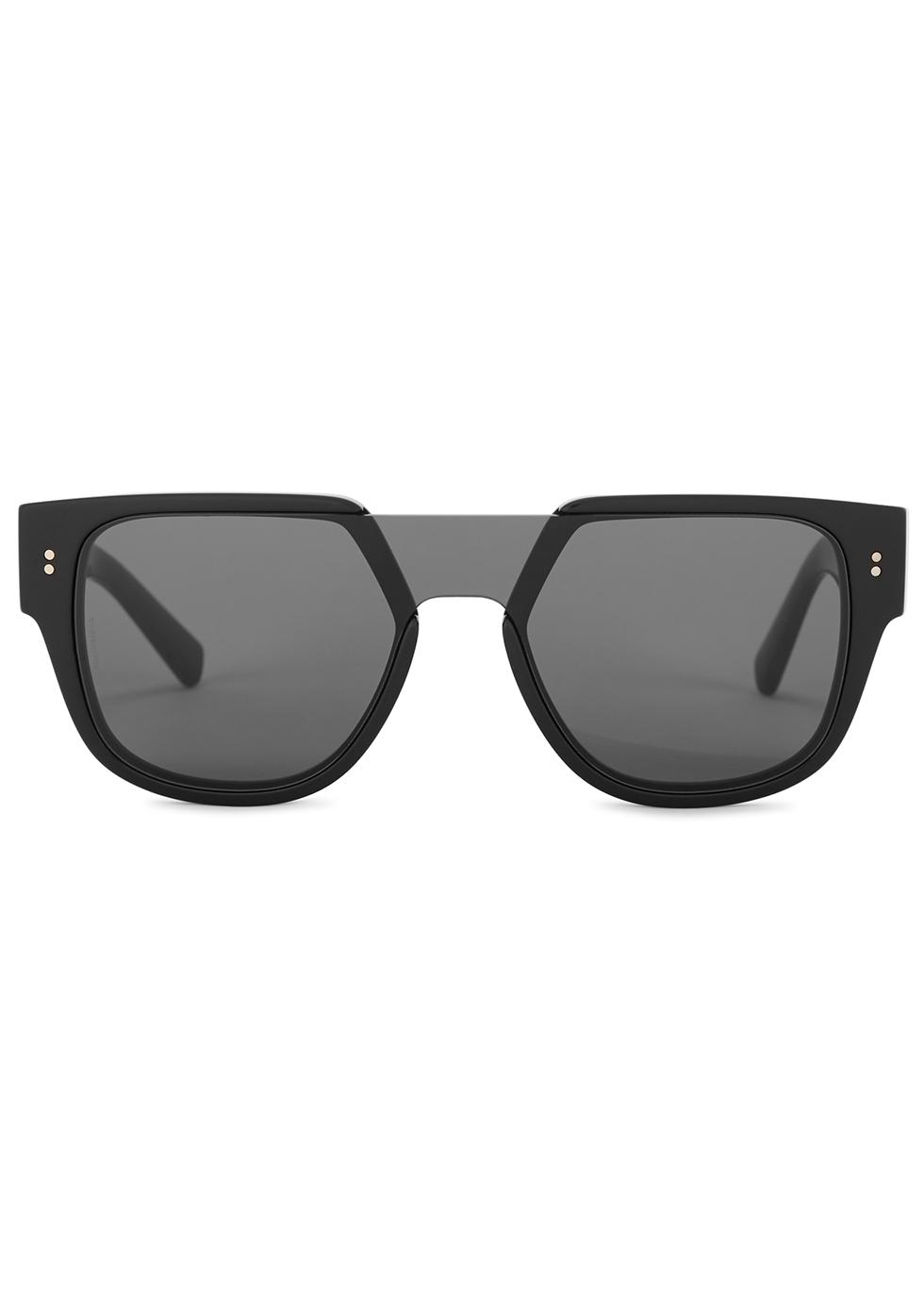 Black D-frame sunglasses - Dolce & Gabbana