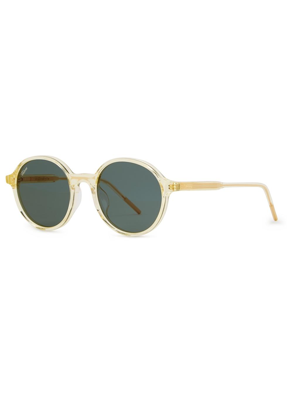 e2a5fe1d0981e FAKE ME Blast white round-frame sunglasses - Harvey Nichols