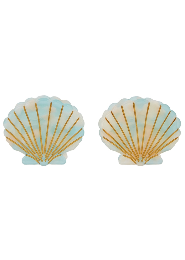 85cd38f6687 Ursula shell clips - set of two