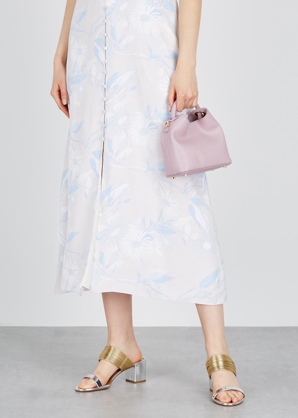 Madeleine mauve top handle bag - ELLEME