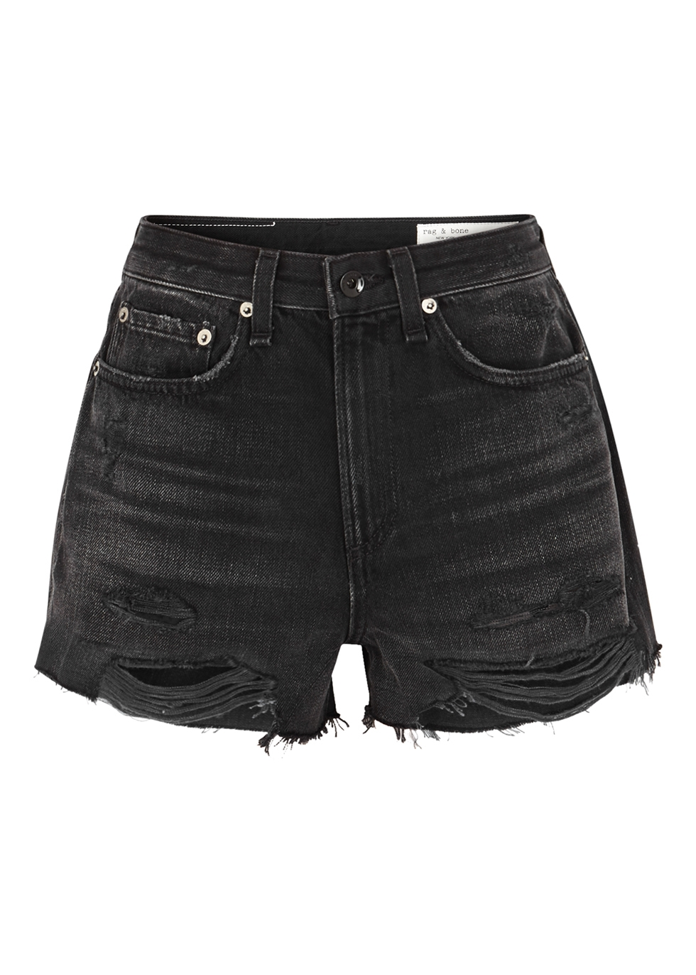 Justine black denim shorts - rag & bone /JEAN