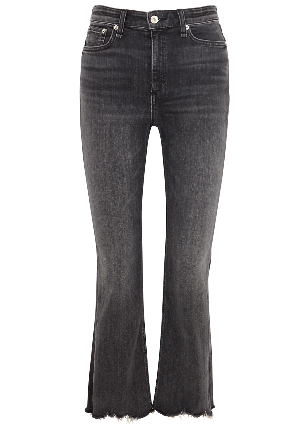 Nina grey flared-leg jeans - rag & bone /JEAN
