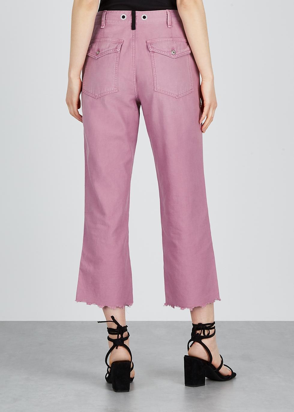 Kaye pink cotton chinos - rag & bone /JEAN