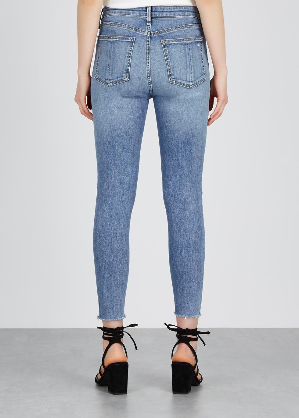 Nina blue skinny jeans - rag & bone /JEAN