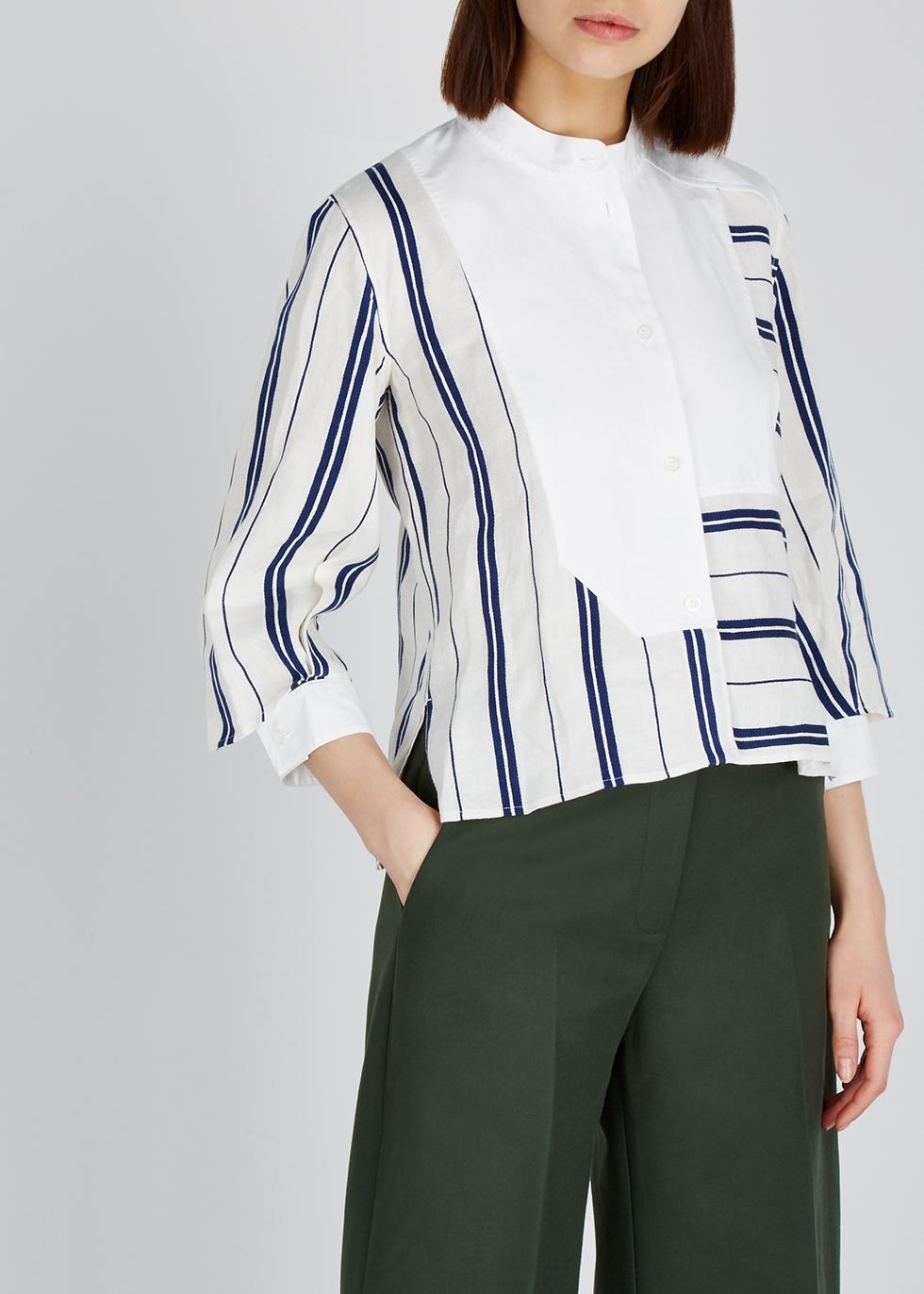 Striped linen-blend shirt - Loewe