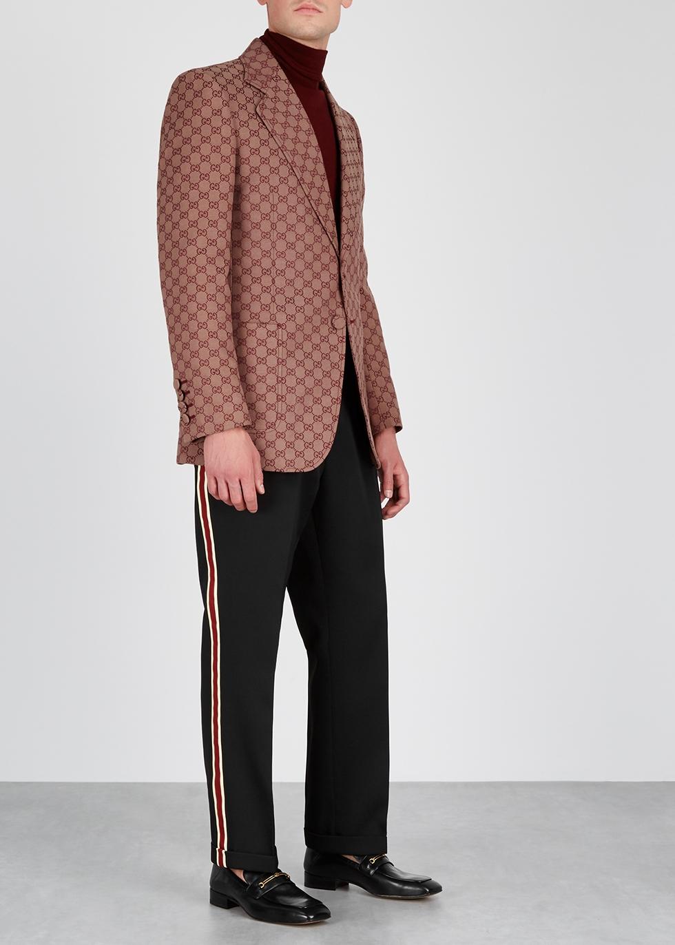 GG jacquard cotton-blend blazer - Gucci