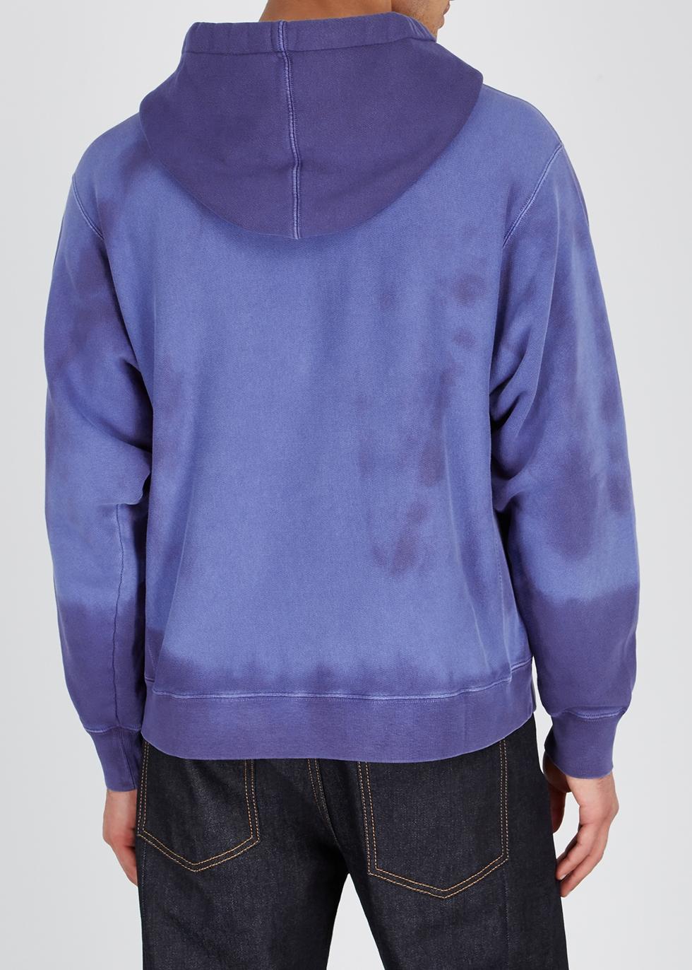 Faded logo cotton sweatshirt - Gucci
