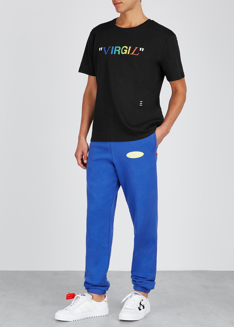Virgil black cotton T-shirt - Reilly