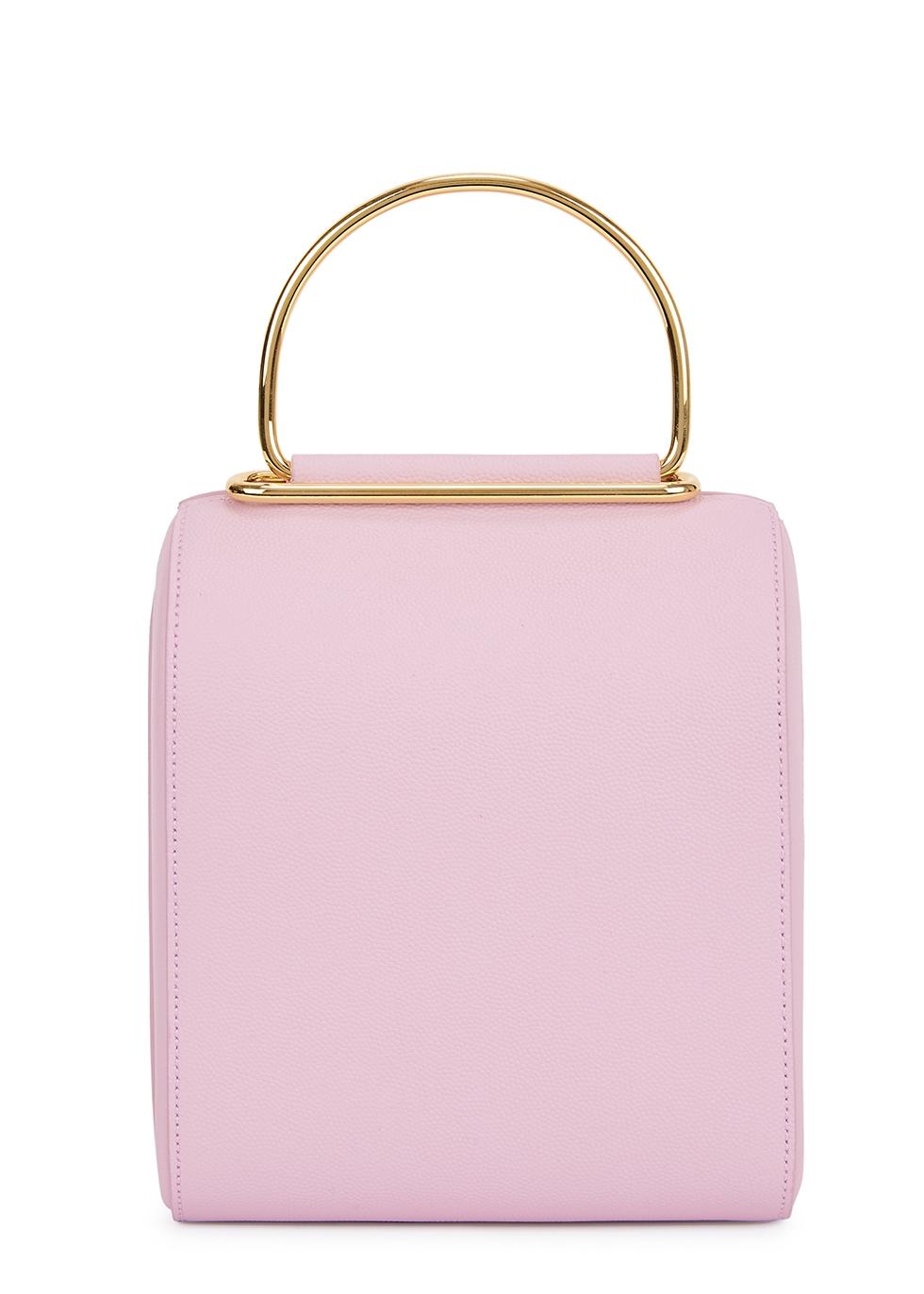 Besa small lilac leather box bag - Roksanda