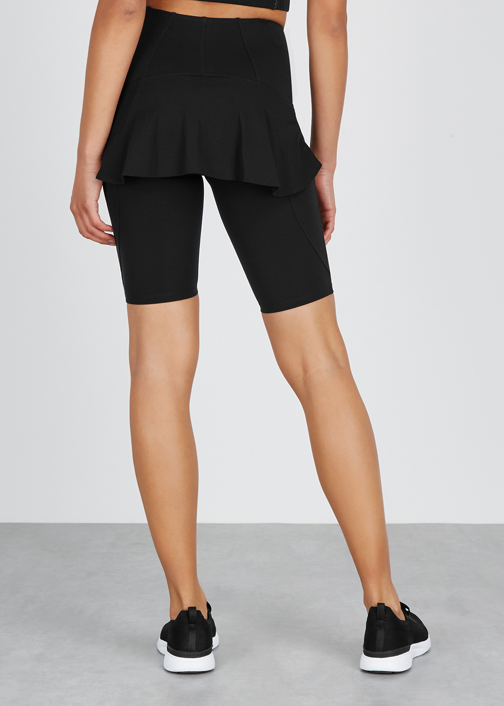 Algol 2.0 skirt-back shorts - Sàpopa
