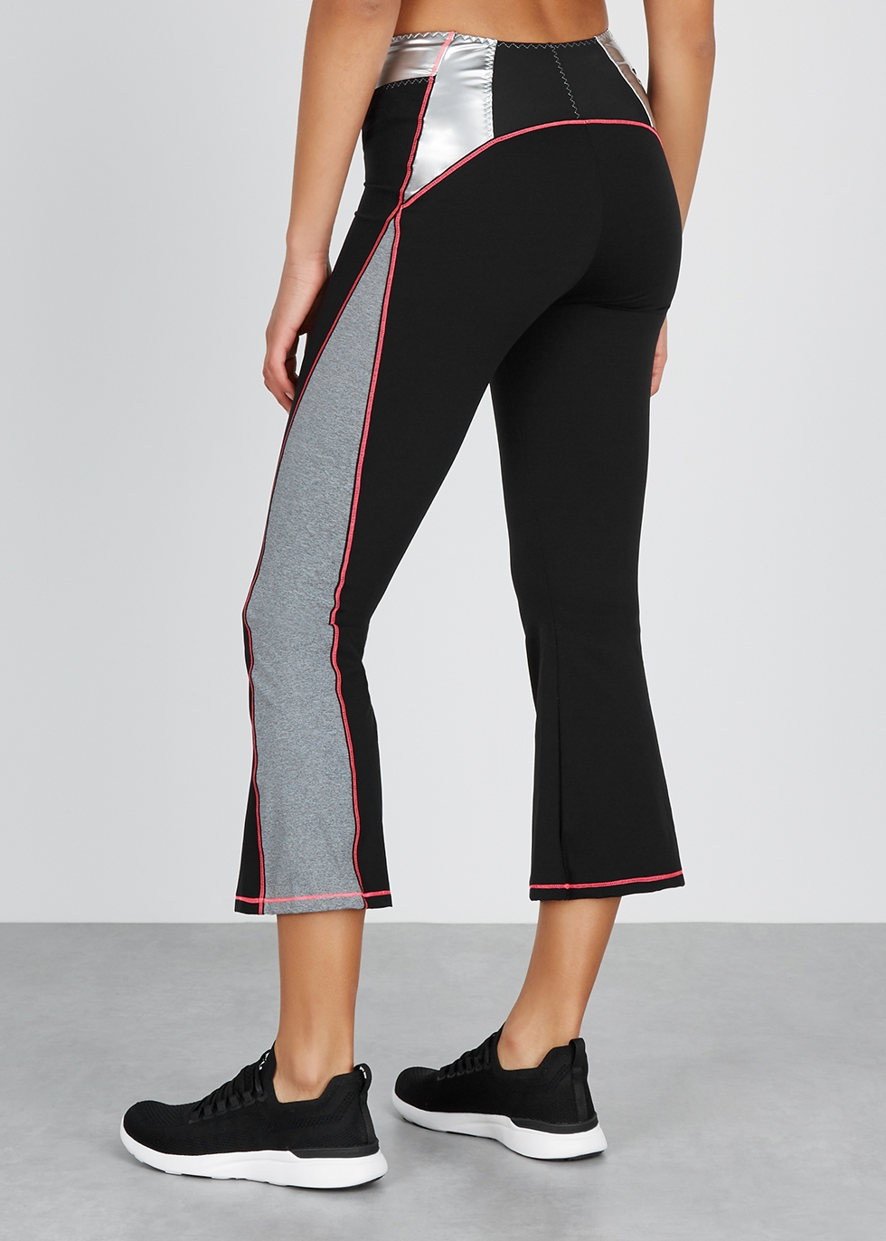 Venus panelled stretch-jersey leggings - Sàpopa