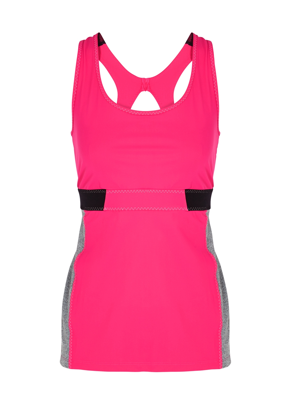 Bussola pink stretch-jersey top - Sàpopa