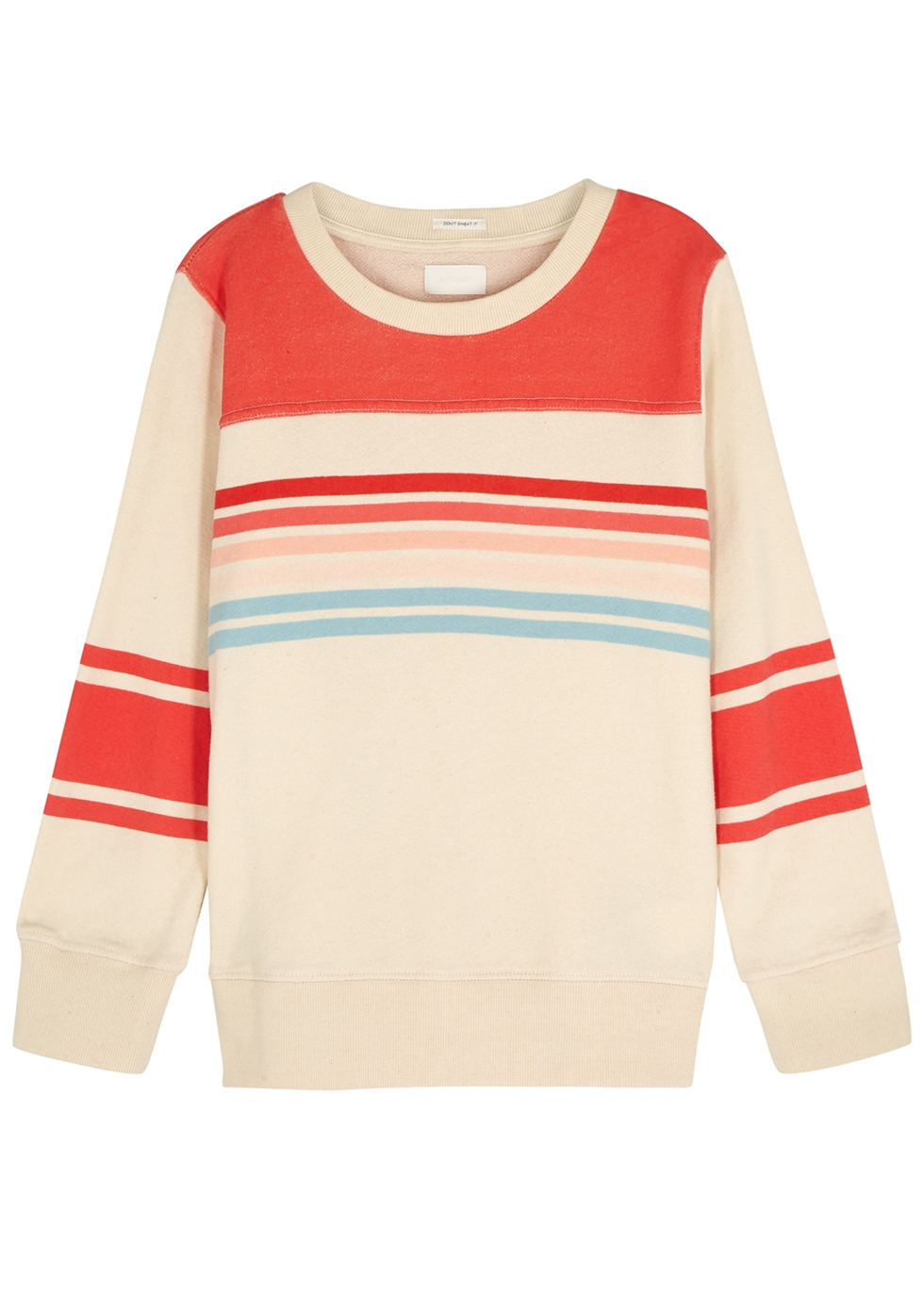 Koozie striped cotton sweatshirt - Mother