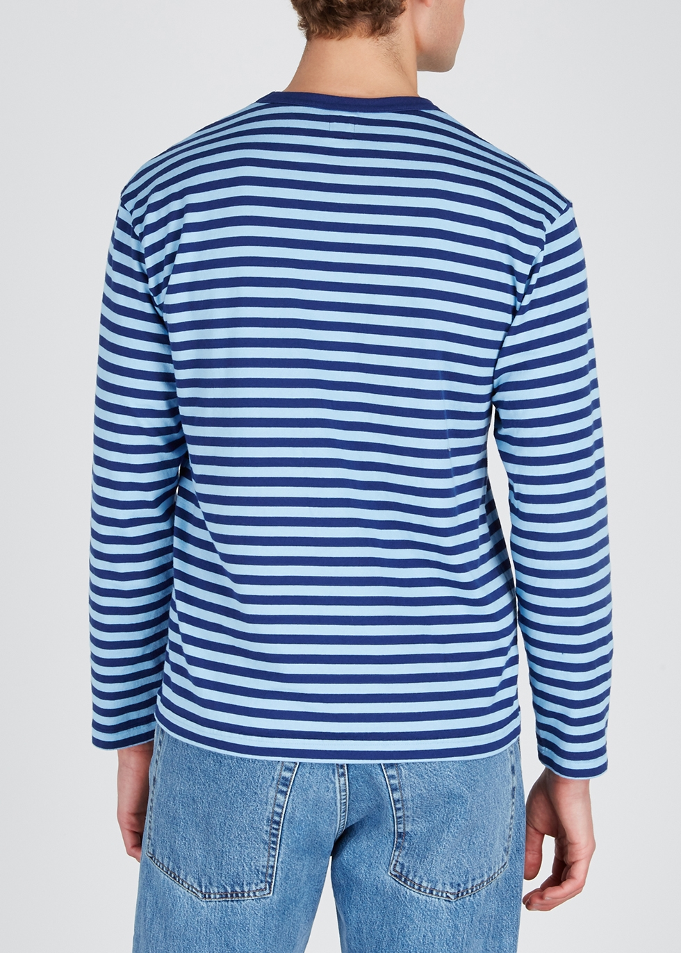 Blue striped cotton top - Human Made