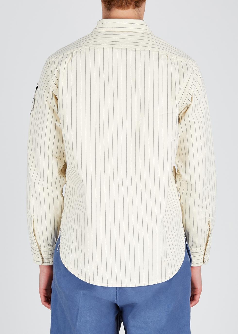 Curry Up striped cotton shirt - Human Made