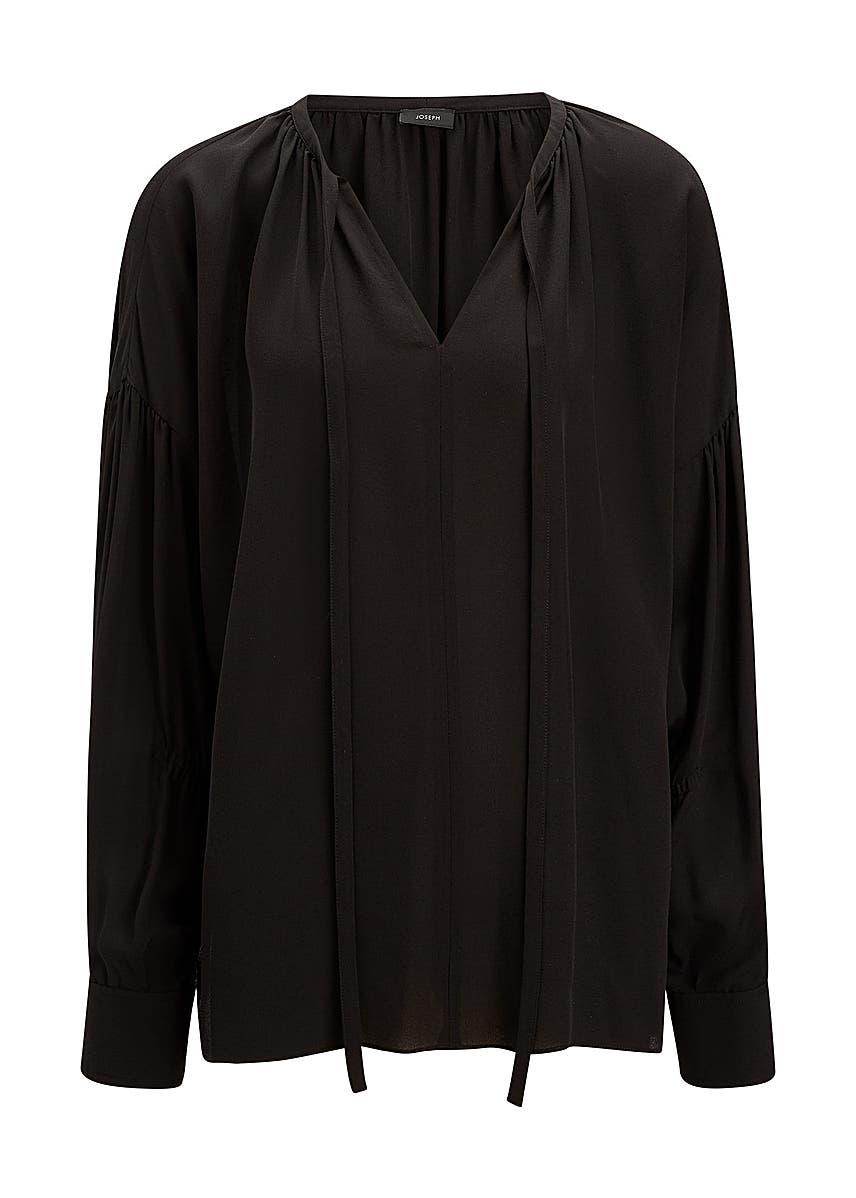 7e647d38195 Elijah silk georgette blouse