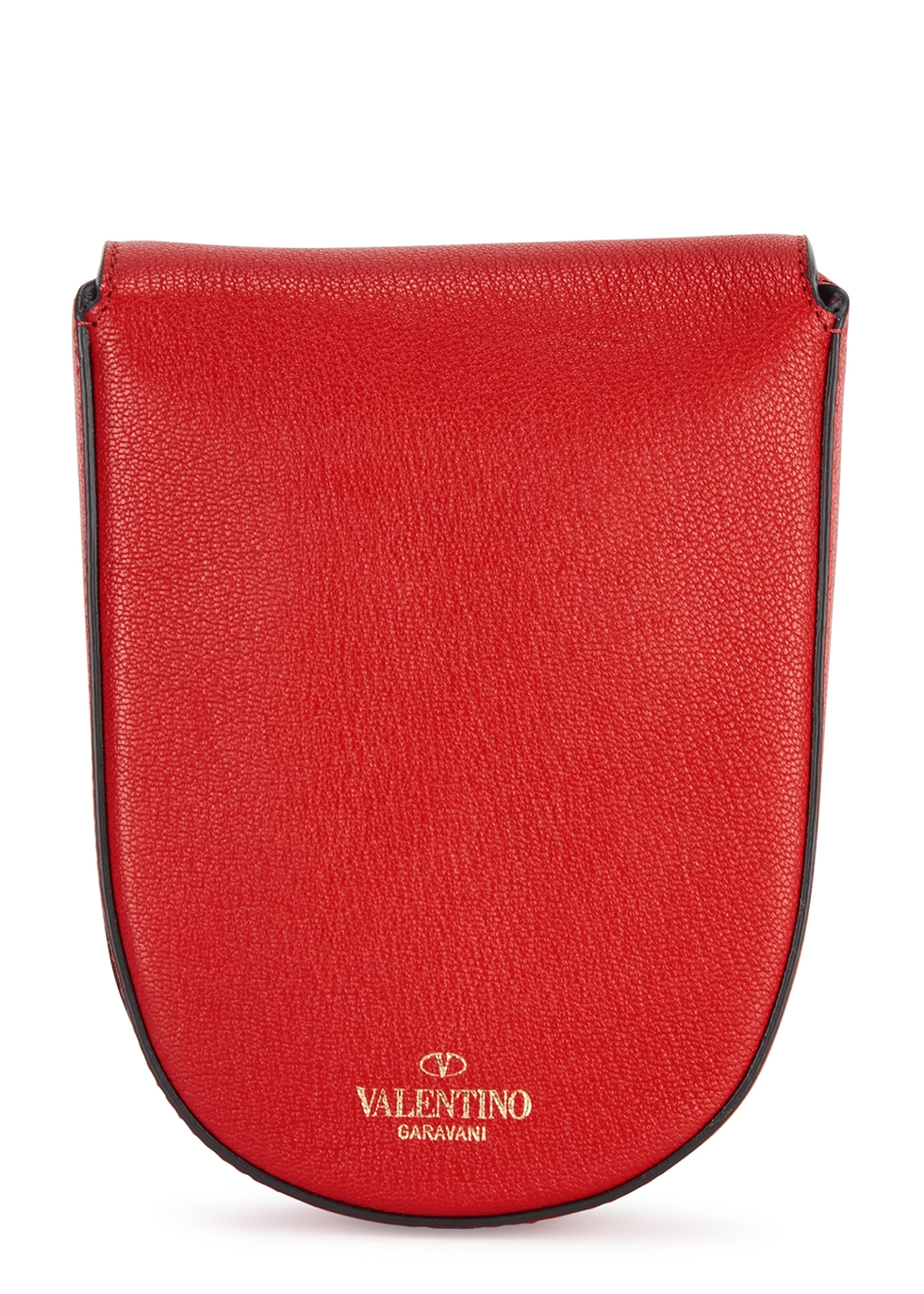 VRing red leather cross-body bag - Valentino Garavani
