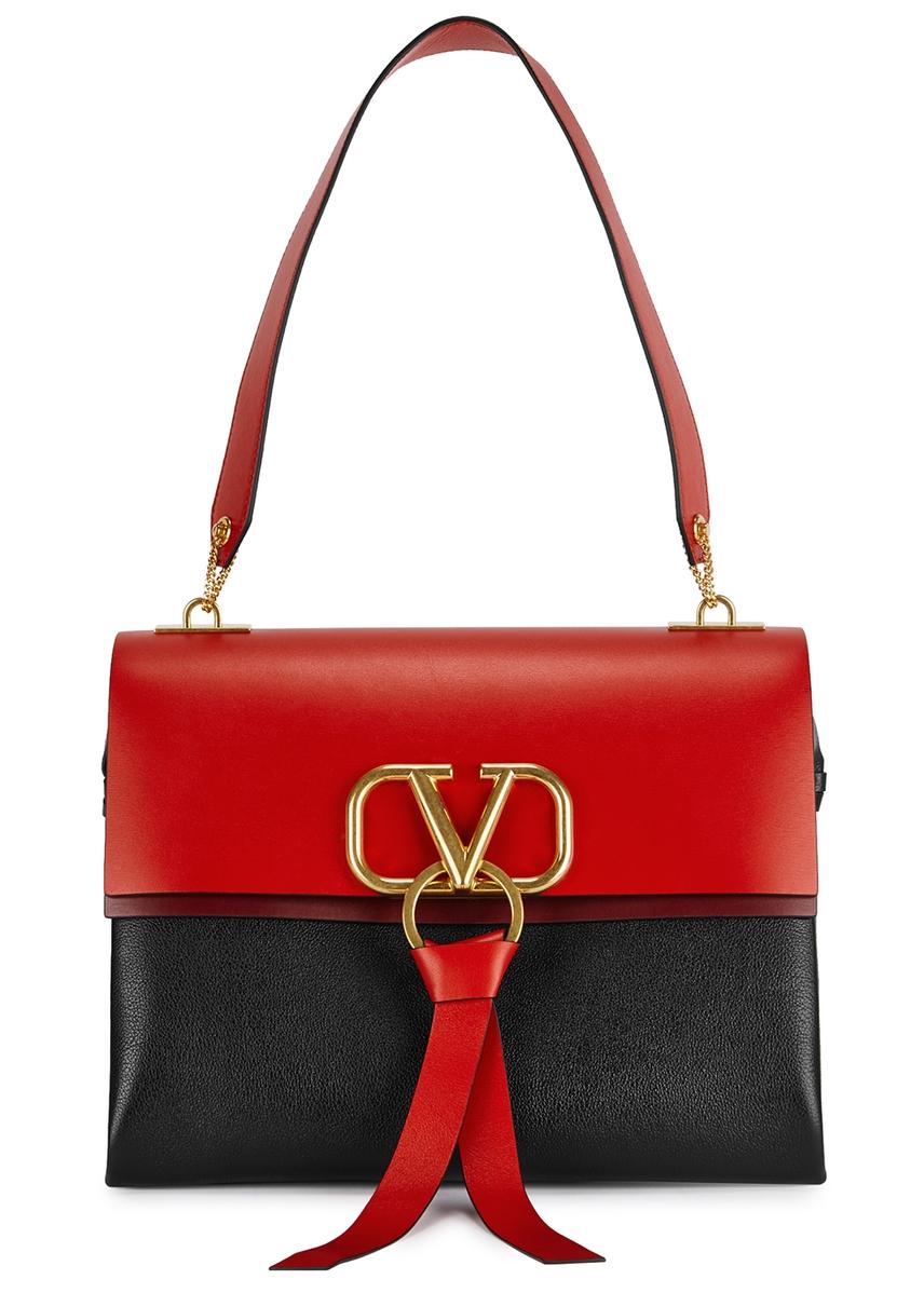 f69810d06d01 VRing medium leather top handle bag VRing medium leather top handle bag.  New Season. Valentino Garavani