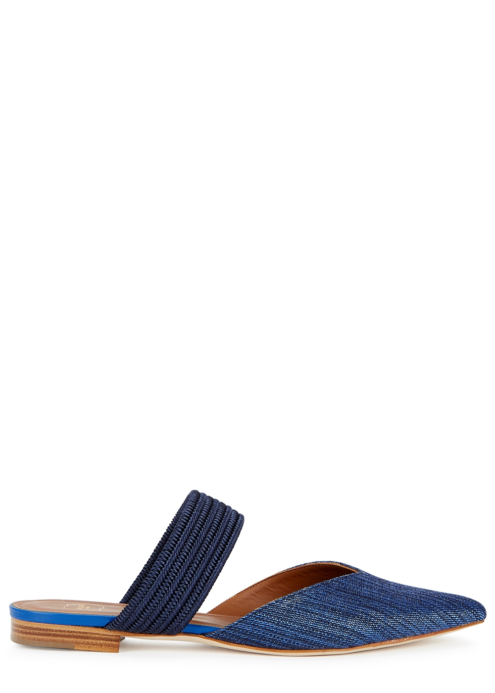 MALONE SOULIERS | Malone Souliers Maisie 10 Denim Mules | Goxip